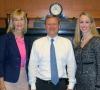Kathryn Pidgeon, Chief Justice John Roberts, Tiffany Hill